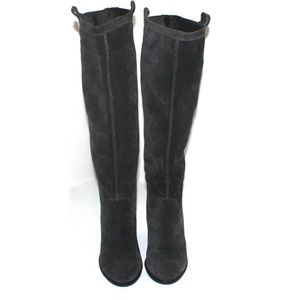 Vince Camuto Shoes - Vince Camuto Braden Grey High Rise Knee high Boot